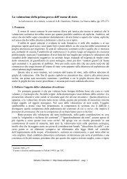 La valutazione della prima prova dell'esame di ... - Adrianocolombo.it