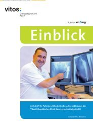 Zeitschrift für Patienten, Mitarbeiter, Besucher und Freunde der Vitos ...