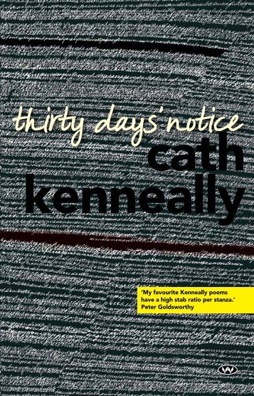 Thirty Days' Notice - Wakefield Press