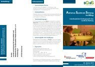 Autismus-Spektrum-Störung im Alltag - Netzwerk AUTISMUS ...