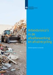 afvalrecycling en verwerking - Inspectie SZW