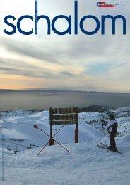 schalom Januar 2012 - Österreichisch-Israelische Gesellschaft