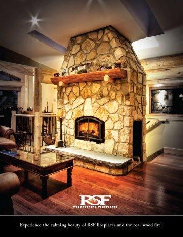 RSF Fireplace Brochure - The Firebird