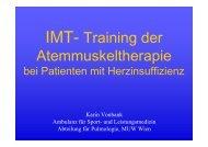 IMT- Dach Symposium St.Gallen 2010