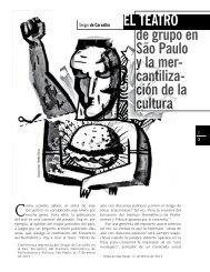 de grupo en São Paulo y la mer- cantiliza- ción de la cultura EL ...