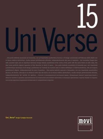 Uni_Verse® design Castiglia Associati __Una porta battente ... - Movi