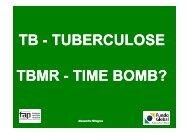 TB - TUBERCULOSE PULMONAR