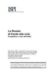 La Russia di fronte alla crisi Rapporto scenario 6-2009.pdf - Ispi