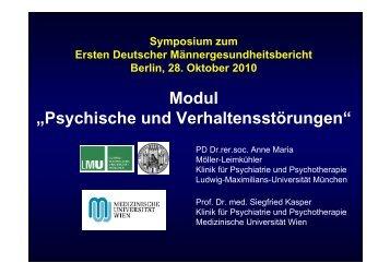 Psychische und Verhaltensstörungen (PDF; 1,47 MB) - Erster ...