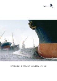 BOSPORUS SHIPYARD 2 GmbH & Co. KG - Dima24