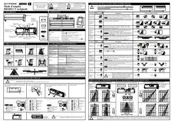 HR100-CT Instructions de montage - Hotron