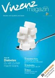 Diabetes Zu viel Zucker macht krank. - Vinzenz Gruppe