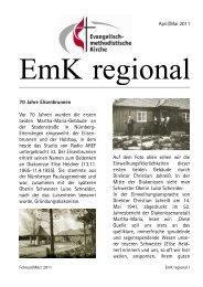 2011 EmK regional April-Mai