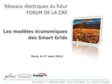 Présentation de Angelos SOURIADAKIS - Smart Grids