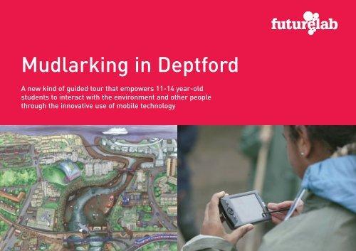 Mudlarking in Deptford - Futurelab