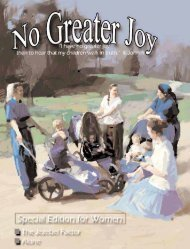 Download the PDF - No Greater Joy Ministries
