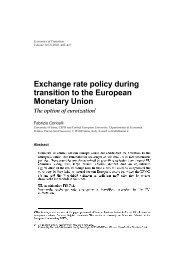 equilibrium exchange rates: a