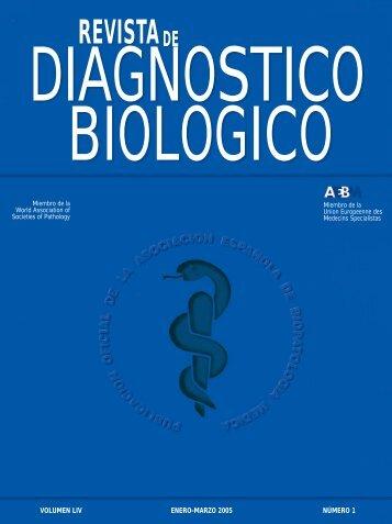 revistade - Asociación Española de Biopatología Médica