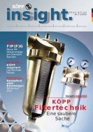 Filtertechnik - Wilhelm Köpp Zellkautschuk GmbH & Co.