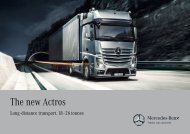 The new Actros - Mercedes-Benz Danmark