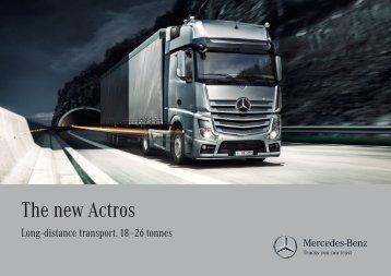 The new Actros - Mercedes-Benz Danmark