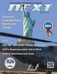 Navy Warfare Development Command's Next Magazine - Defense ...