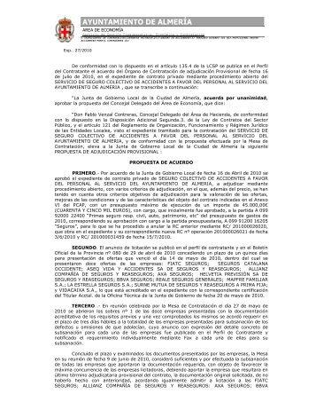 53 TRASLADO ACUERDO JGL ADJ PROVISIONAL SEGURO ...