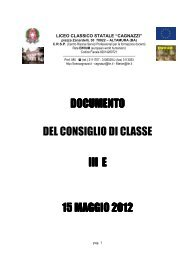 Download Documento15maggioIIIE - Liceo Statale Cagnazzi
