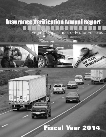 Insurance Verification Annual Report - Virginia Department of Motor ...
