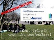 Dokumentation - Lawaetz-Stiftung