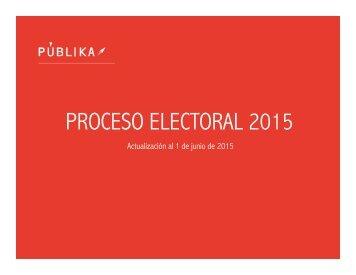 PROCESO ELECTORAL 2015 analisis