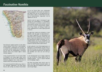 Faszination Namibia - Jagdbüro G. Kahle