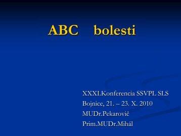 ABC bolesti