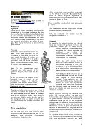 En pièces détachées - Cerbere.org