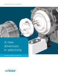 Brochure: AB SCIEX SelexION Technology