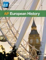 AP European History - EF Educational Tours