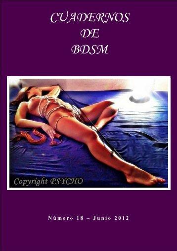 Cuaderno BDSM 18 - Cuadernos BDSM