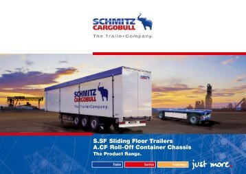 S.SF Sliding Floor Trailers A.CF Roll-Off Container Chassis