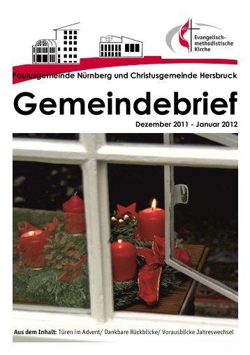 Gemeindebrief 2011- 12-01