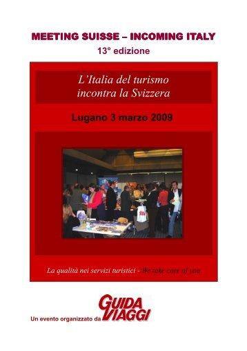 13 Meeting Suisse doc uff 2009 ITA.pub - GuidaViaggi