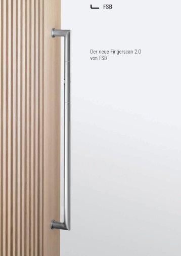 Der neue Fingerscan 2.0 von FSB - E-key