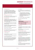 Forsikringsvilkår Campingvogn - Advokatforeningen - Page 6