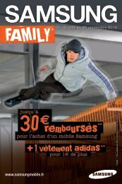 samsung family adidas - Orange mobile