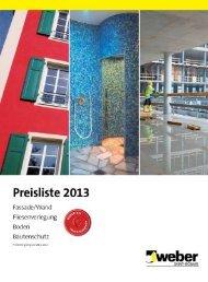 weber Preisliste 2013 lr.pdf, Seiten 1-17