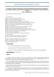 Circulaire du 7 janvier 2013 - Justice / Textes et réformes - Ministère ...
