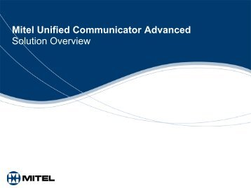 UC Advanced Customer Presentation 23rd April09 - Ash Telecom