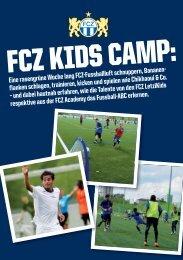 Eine rasengrüne Woche lang FCZ-Fussballluft ... - FC Zürich