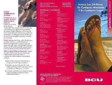 Acceso Las 24-Horas En Cualquier Momento Y En Cualquier ... - BCU