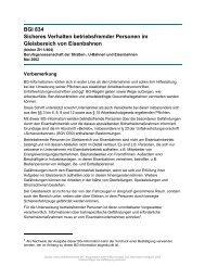BGI 834 Sicheres Verhalten betriebsfremder Personen im ...