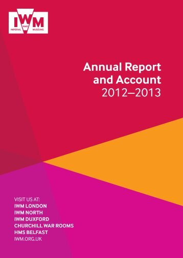 Current Annual Report - Imperial War Museum